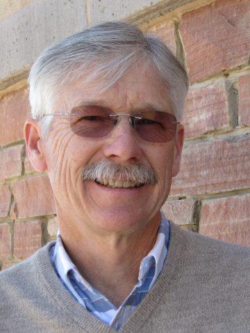 Mark Petersen smiles